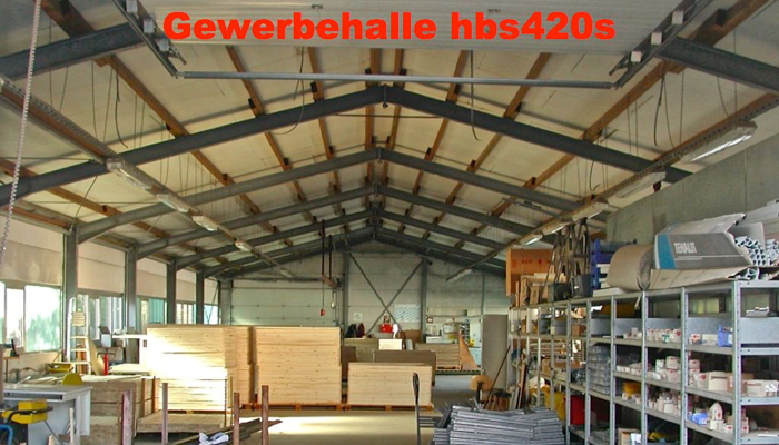 12x35x5m gewerbehalle abzutragen hbs420s. Black Bedroom Furniture Sets. Home Design Ideas